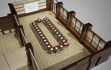 Wharf Suite 3d Drawing