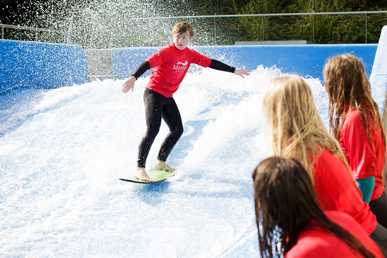 Go With the Flow at a FlowRider™ Party!