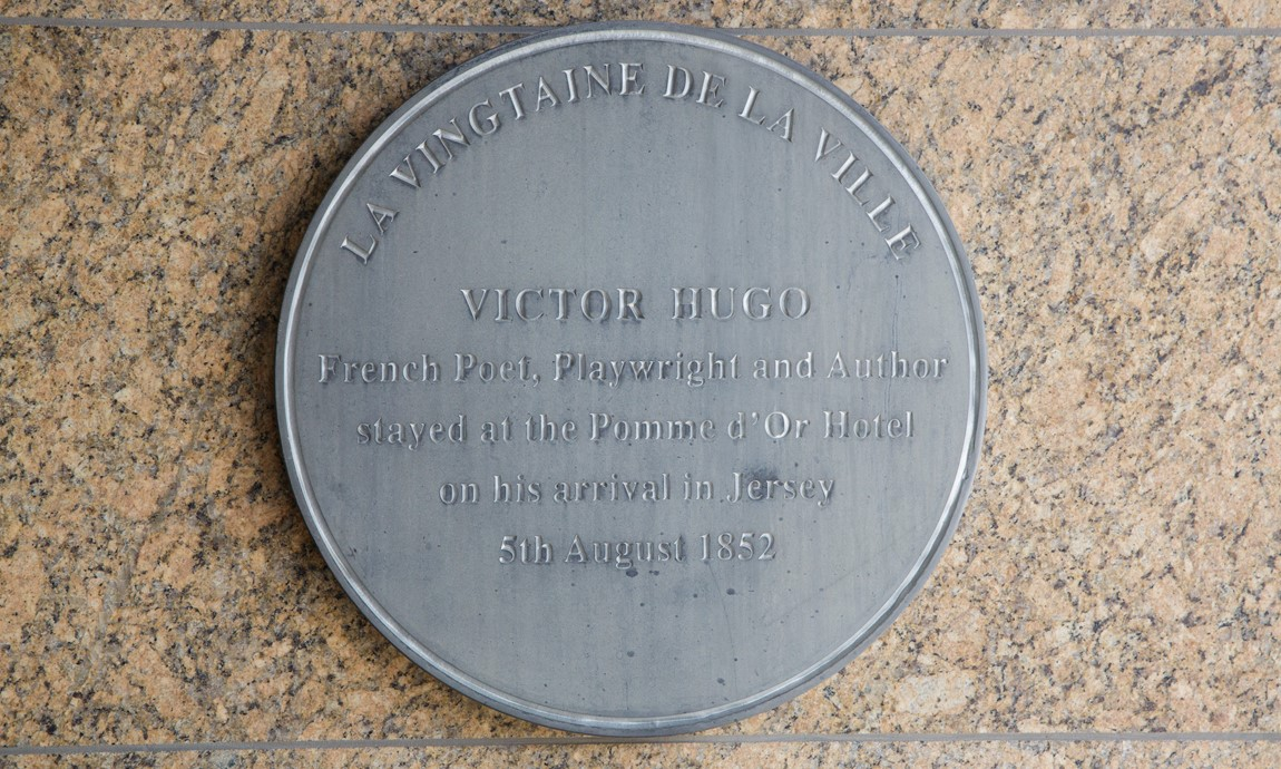 Victor Hugo Plaque