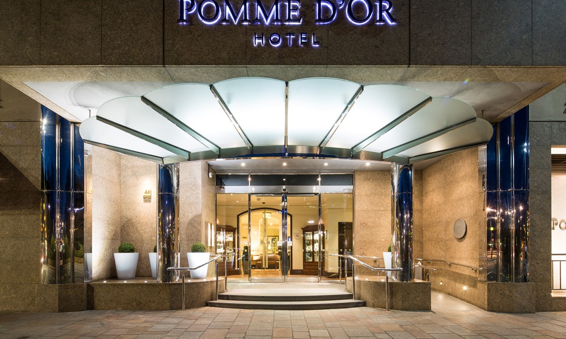 Welcome to the Pomme d'Or