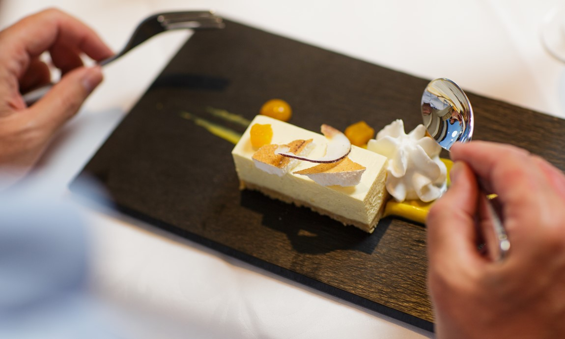 The Harbour Room Dessert - Cheesecake