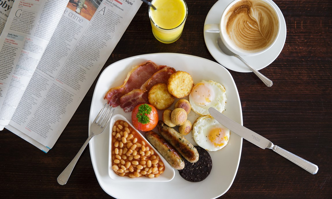 Cafe Bar Full English Breakfast