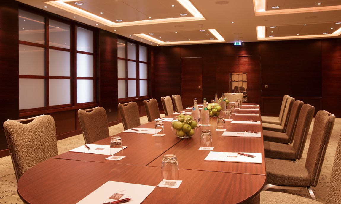 Wharf Room Board Room Set Up