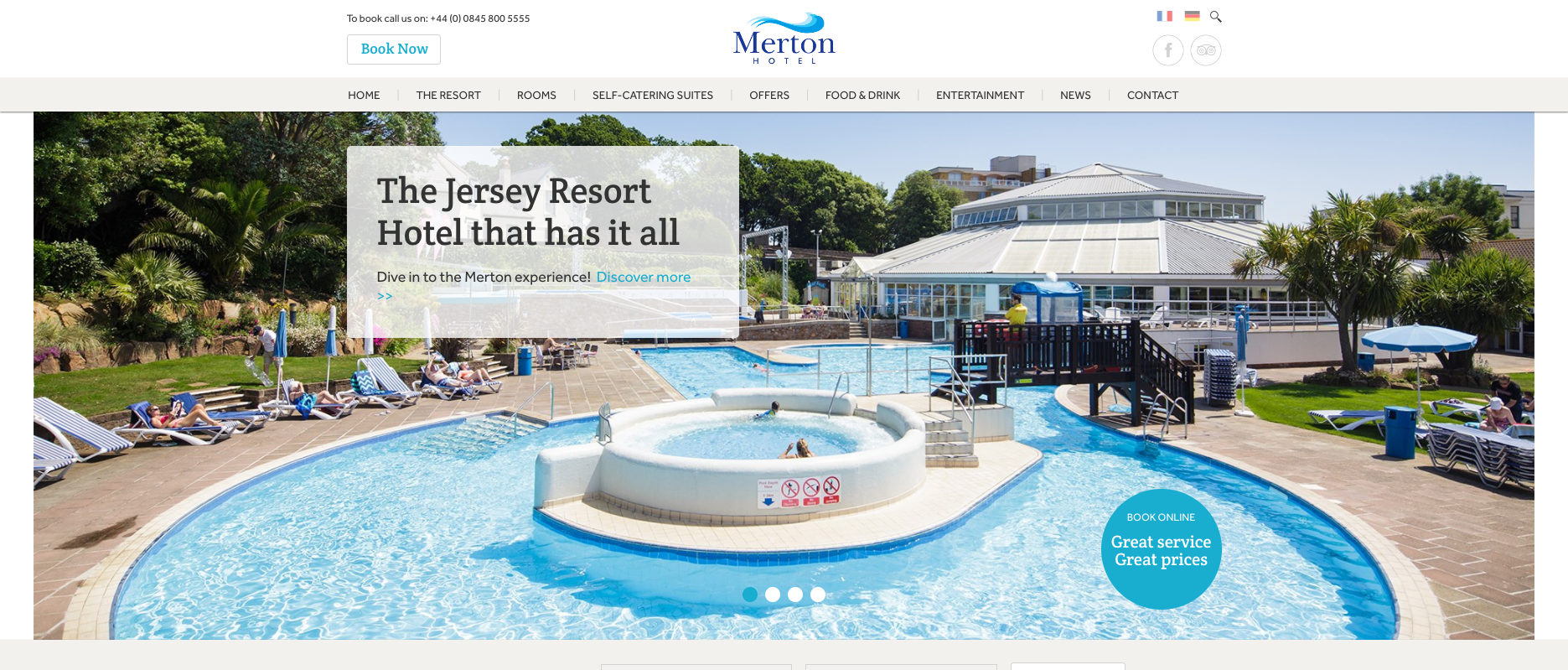 Merton Hotel - The Jersey 3 star resort hotel that has it all