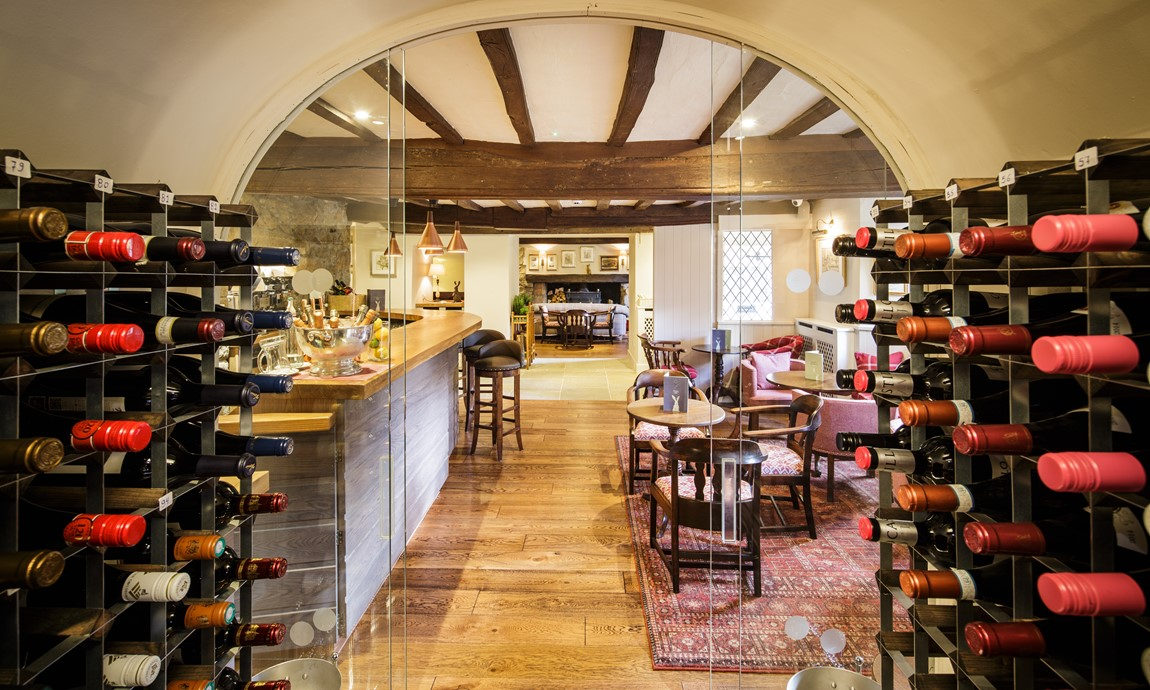 The wine cellar & bar