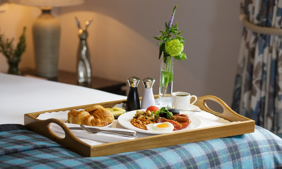 The Killiecrankie room service breakfast