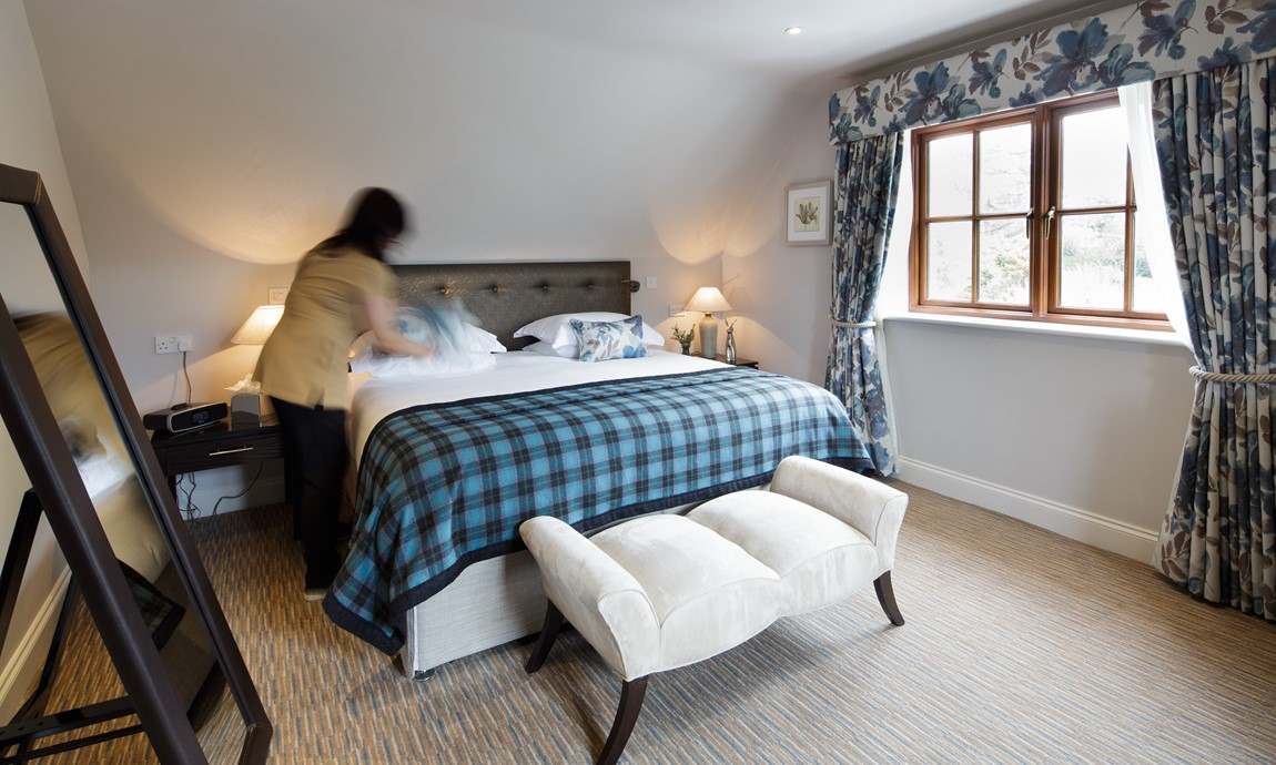 The Killiecrankie room service