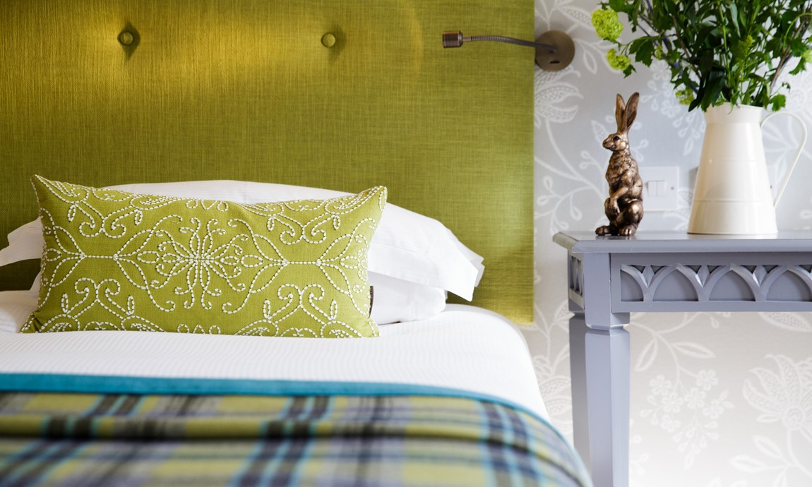 Garden View Room bed detail