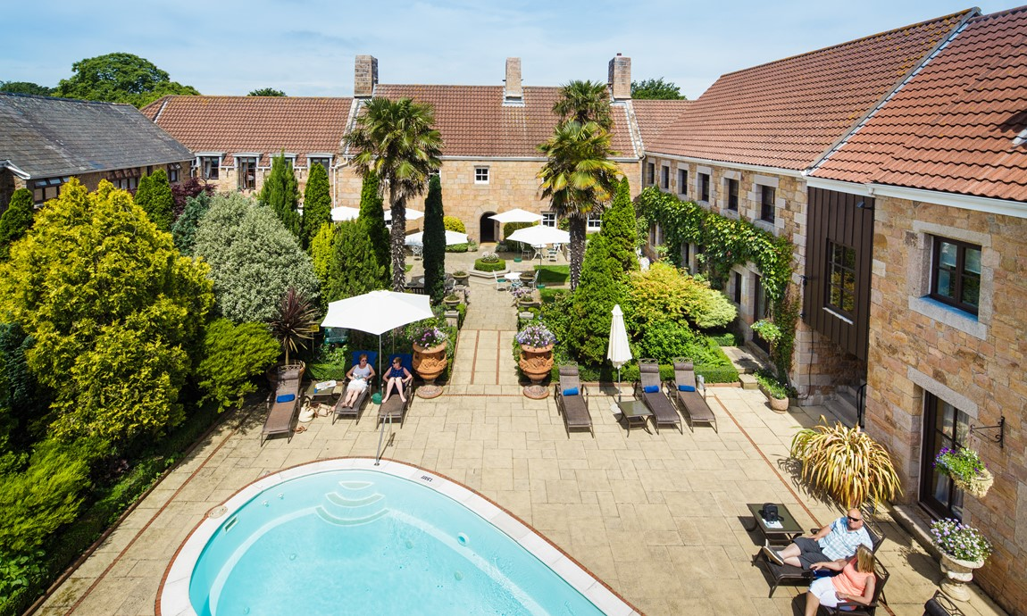 Greenhills Country House Hotel, pool and gardens