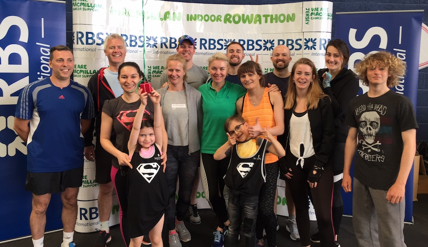 Seymour Hotels raise £965 in the Macmillan Rowathon 2017