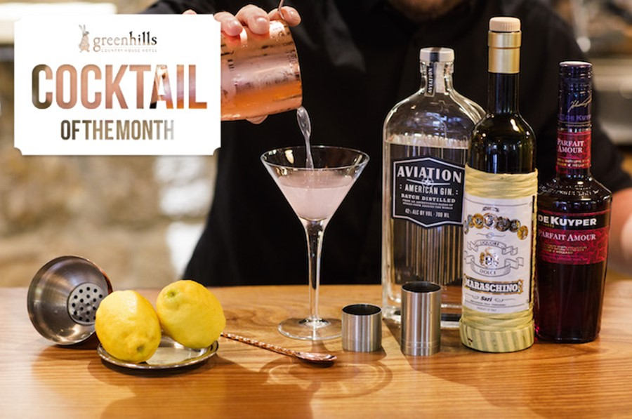 May's Cocktail of the Month: the Aviator