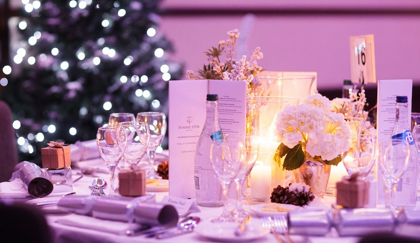Beat the rush - book your Christmas events at the Pomme!