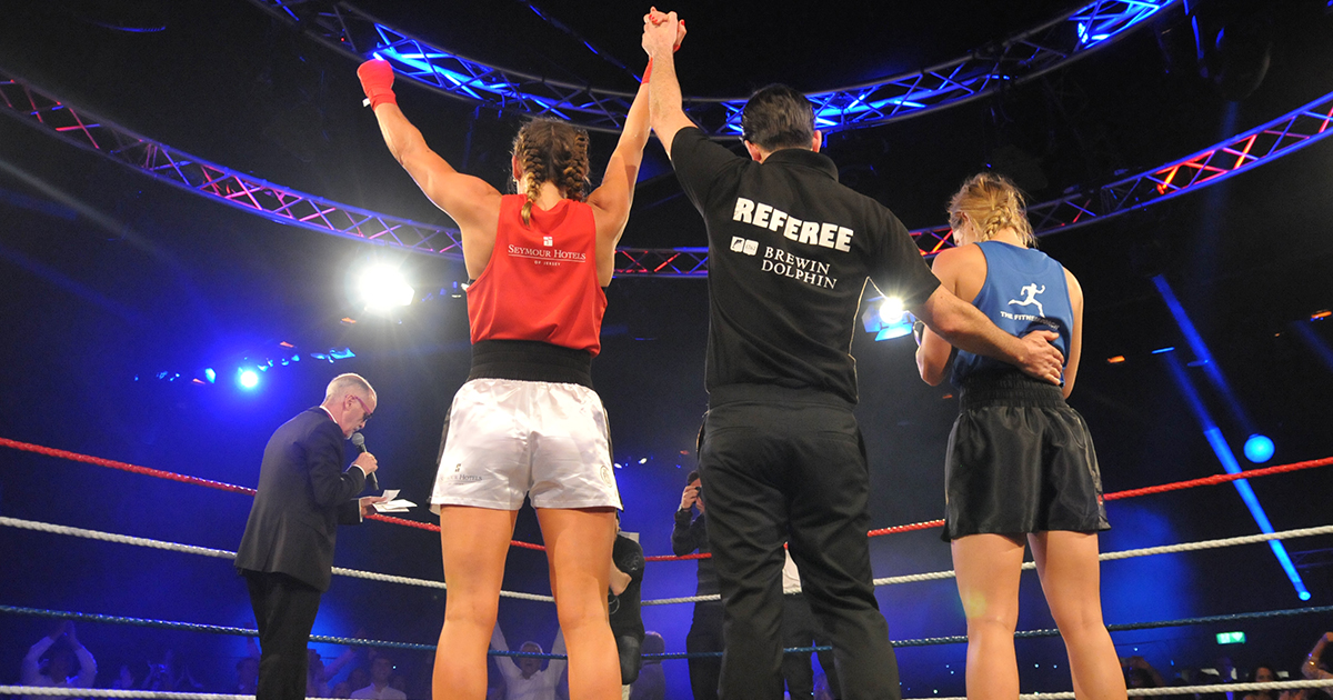 How to train for a white-collar boxing bout