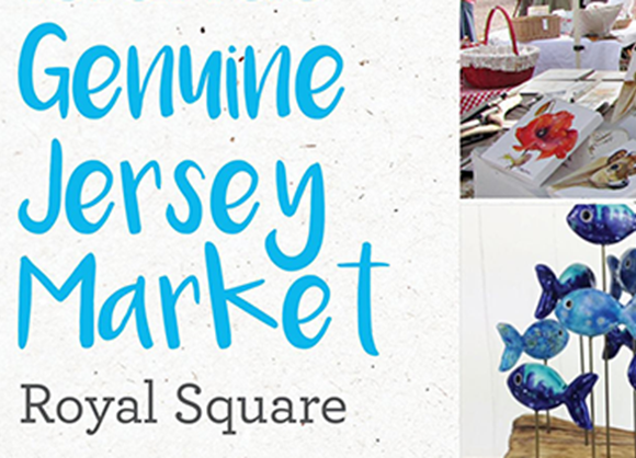 Genuine Jersey Market in the Royal Square