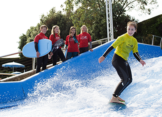 Celebrate in surfing style with a FlowRider™ Party!
