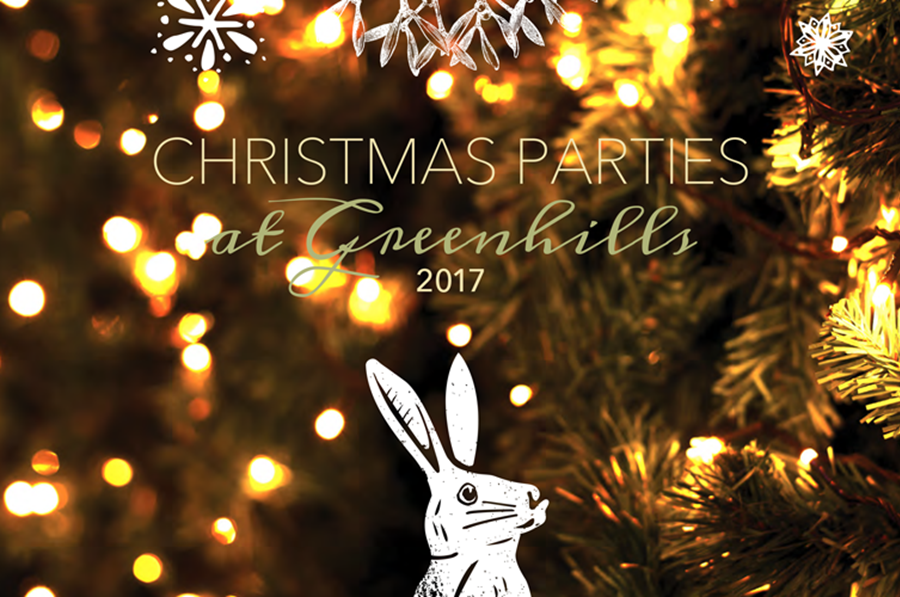 Greenhills is perfect for Christmas parties