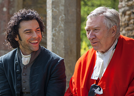 A Delicious Night with Poldark's Robin Ellis