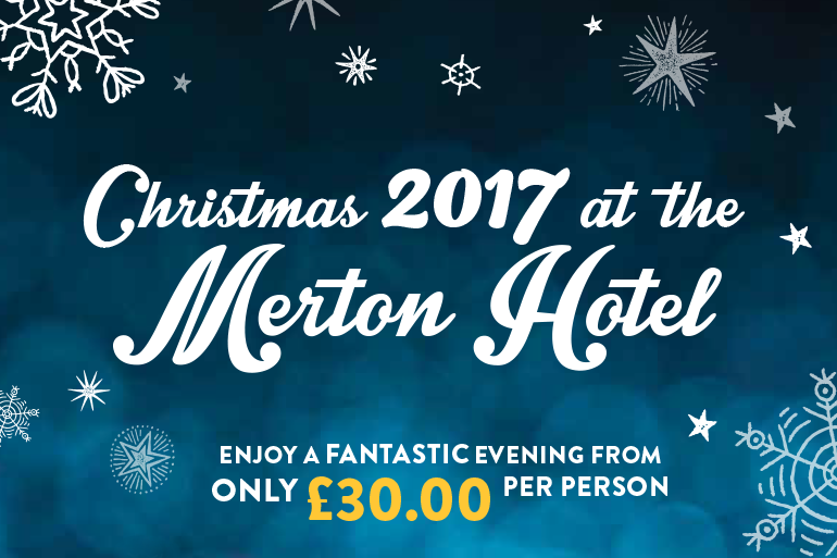Step into Christmas with parties at the Merton