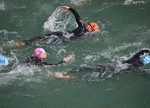 Get in the swim...and cycle...and run with Super League Triathlon!