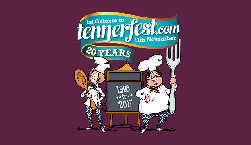 Tennerfest at the Pomme' d'Or costs ... just a tenner!