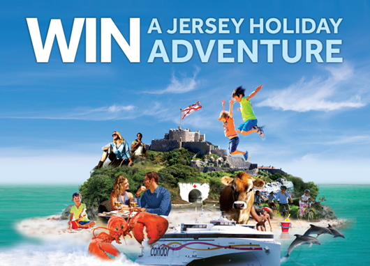 Congratulations to our Jersey Adventure Holiday Winner!