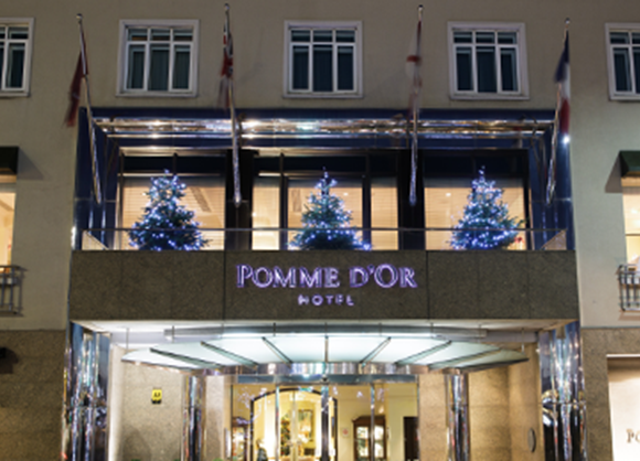 The Pomme d'Or is perfect for rugby fans this winter