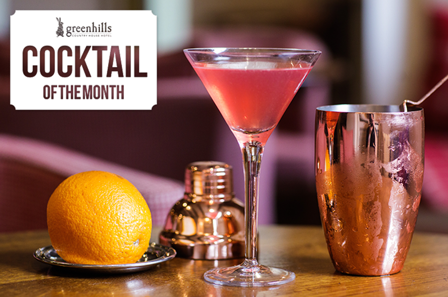 January's Cocktail of the Month - the Dean Martini
