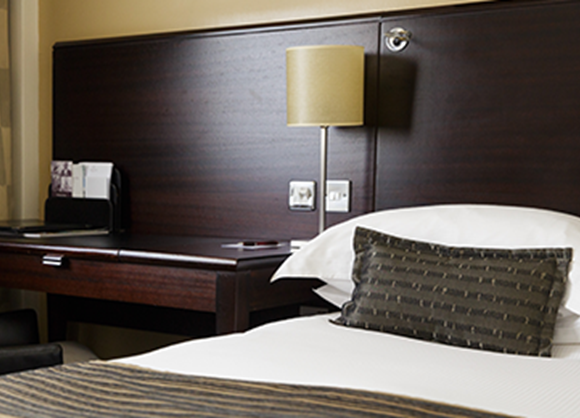 Enjoy contemporary style with traditional comfort in our executive rooms.