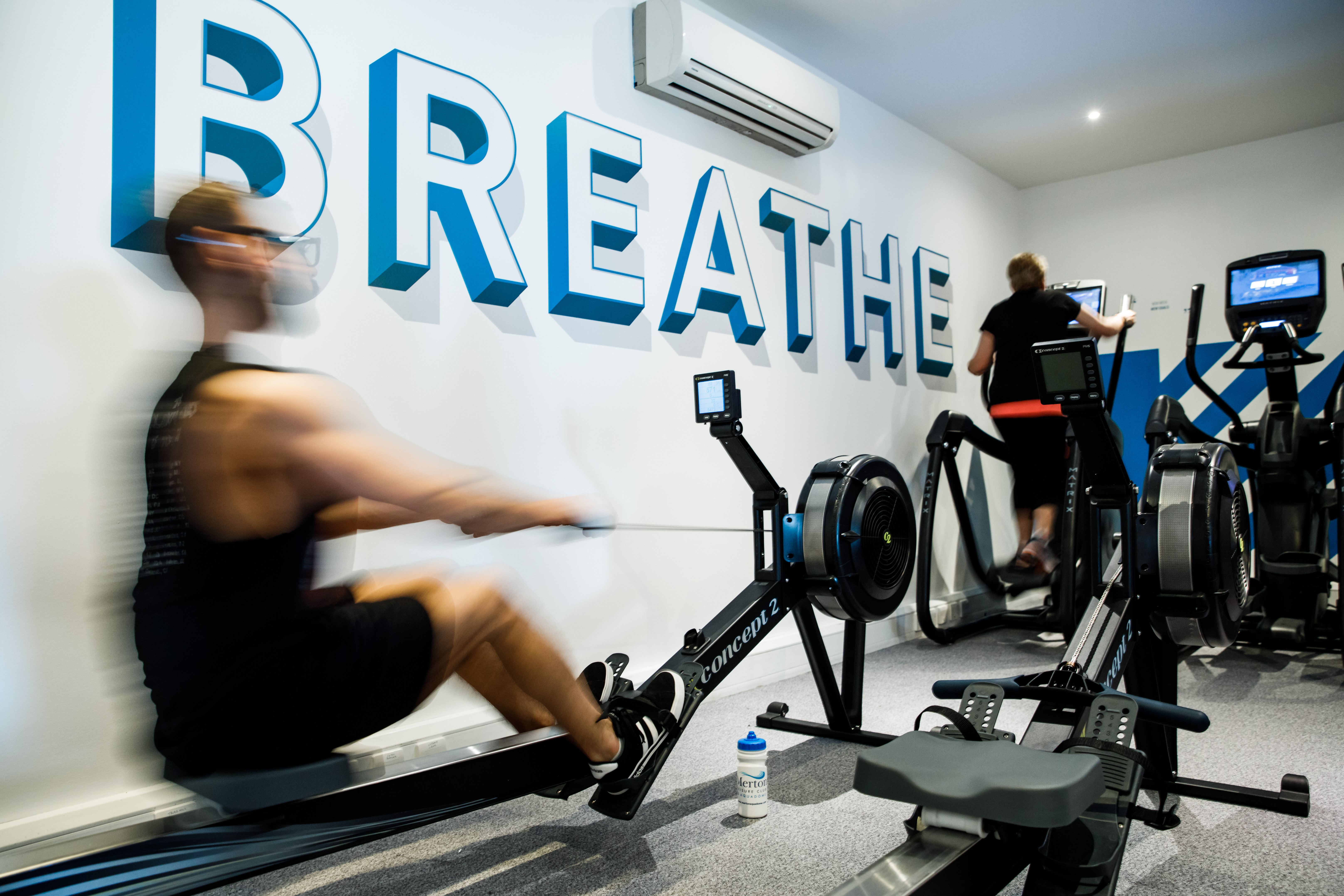 Fully equipped gym fitness centre at the merton hotel