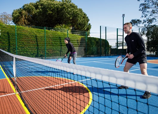 Keep fit this summer on our outdoor ball court