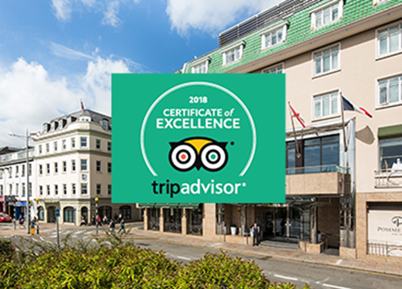 The Pomme d'Or experience gets the TripAdvisor seal of approval