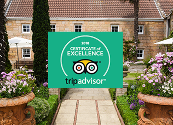 Greenhills awarded TripAdvisor's Certificate of Excellence... again!