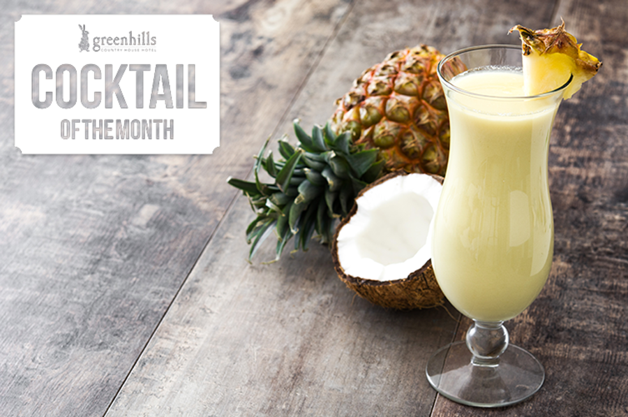 July's Cocktail of the Month - Pina Kolada