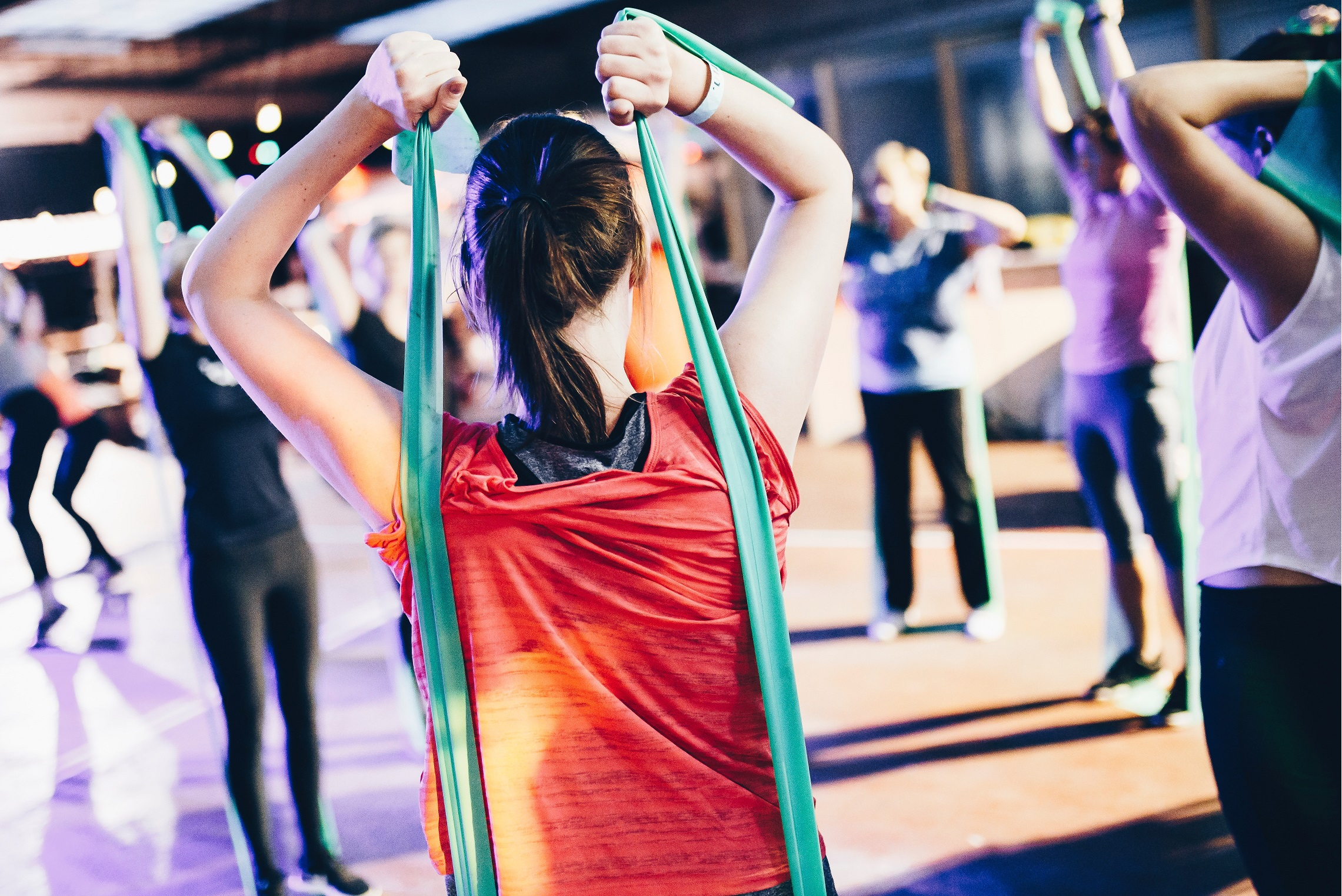 Feel the burn! Join our weekly Body Burst classes