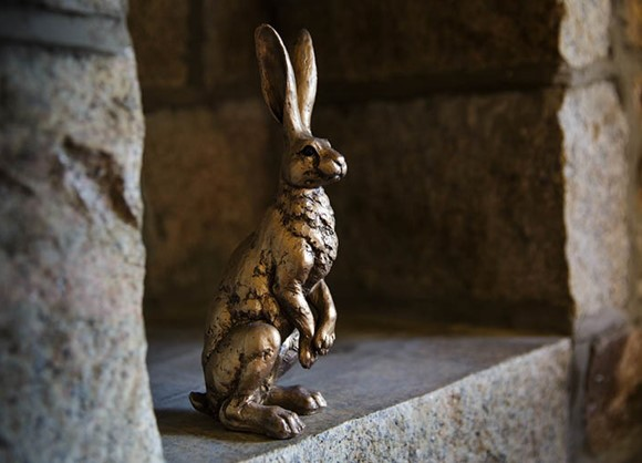 The story behind Greenhills' hare