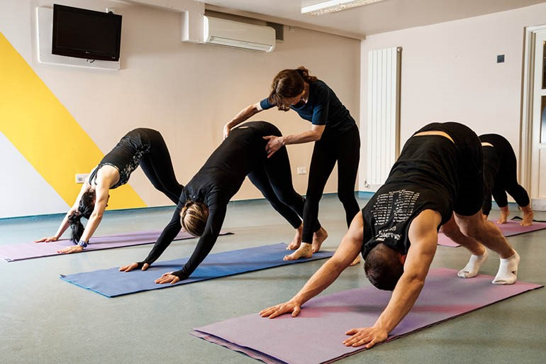 Revive yourself with yoga at the Merton