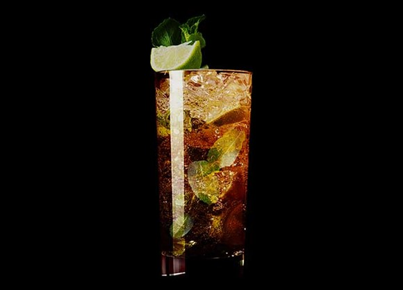 August's Cocktail of the Month: Black Mojito