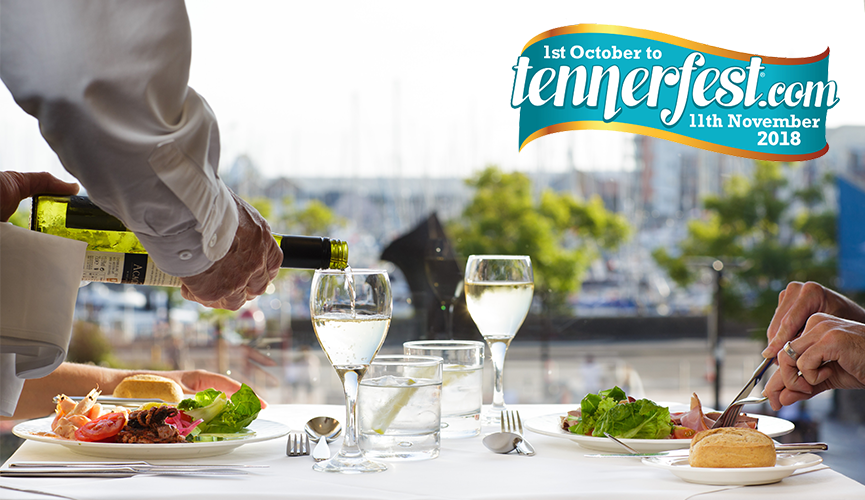 Tennerfest - £10 lunches in The Harbour Room