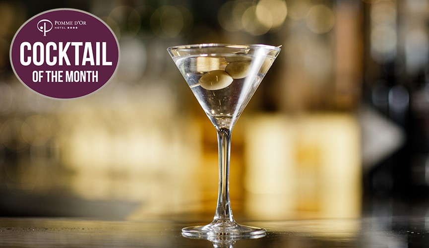 Cocktail of the Month: Gin Martini