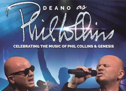 Deano as Phil Collins 0106