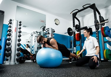 Try our personal training sessions