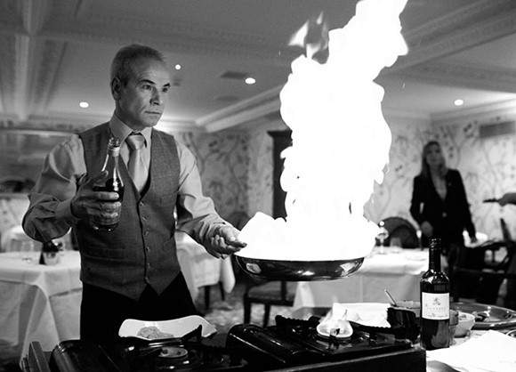 Flambé evening sells out faster than we can write a blog about it